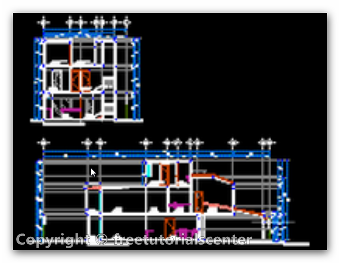Home plan details autocad dwg files house plans for House plan cad file