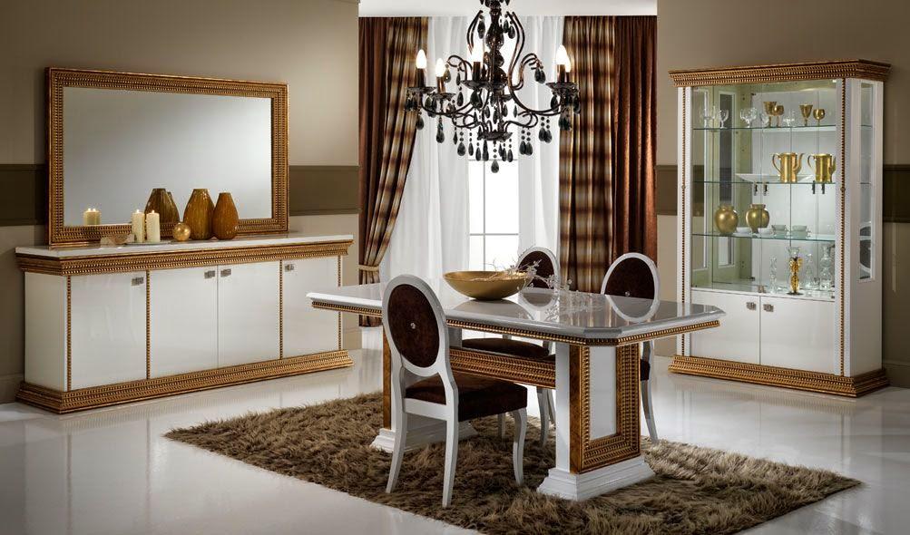 D coration et bricolage salles manger modernes for Modele salle a manger moderne