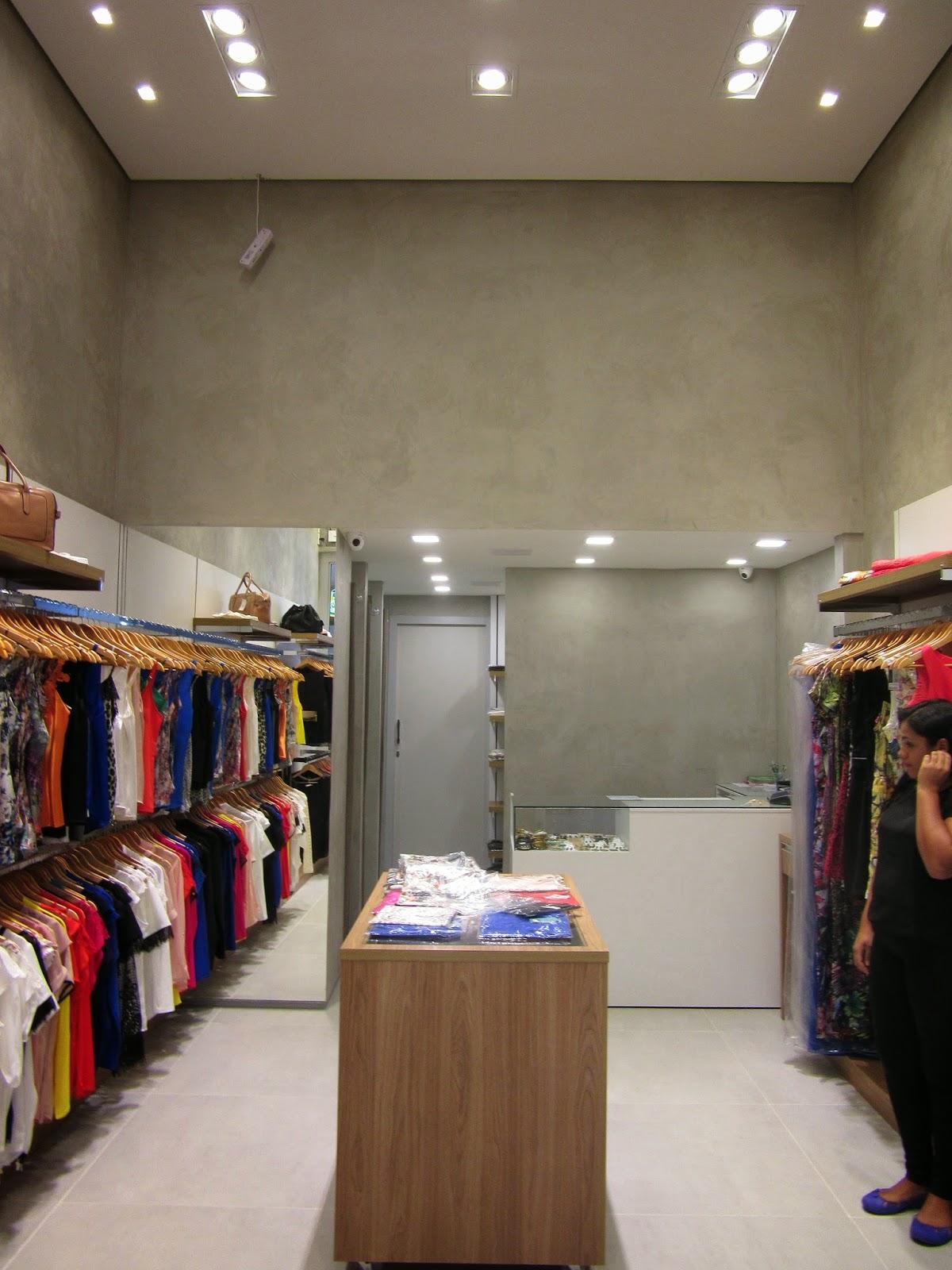 Famosos Projeto para uma loja de roupas | A CASA DO ARQUITETO LZ91