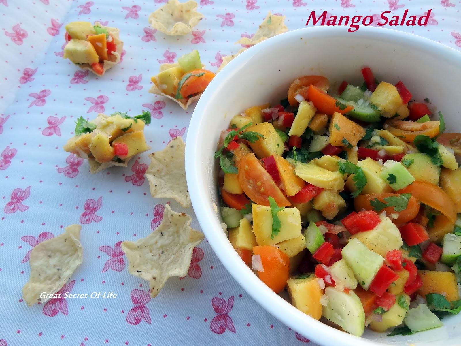 Mango Salad| Great-secret-of-life