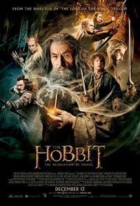Poster original de El Hobbit: La Desolación de Smaug