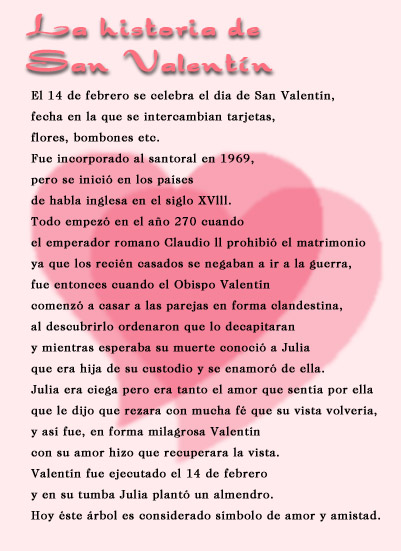 Historia de San Valentín