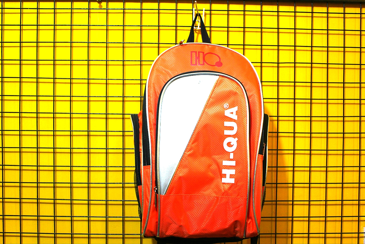 Tas Raket Badminton Thermo HI QUA BP ULTRA Orange Silver