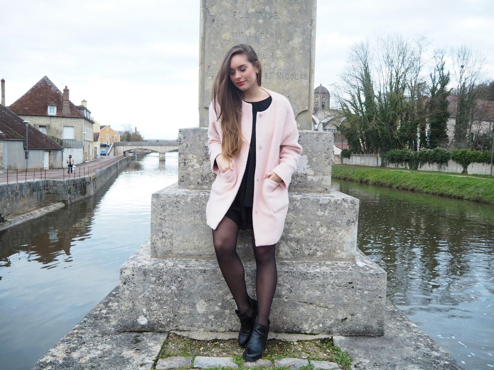 Manteau Des Petits Hauts rose