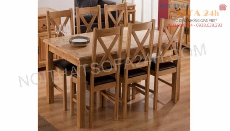 Bàn ghế ăn 029
