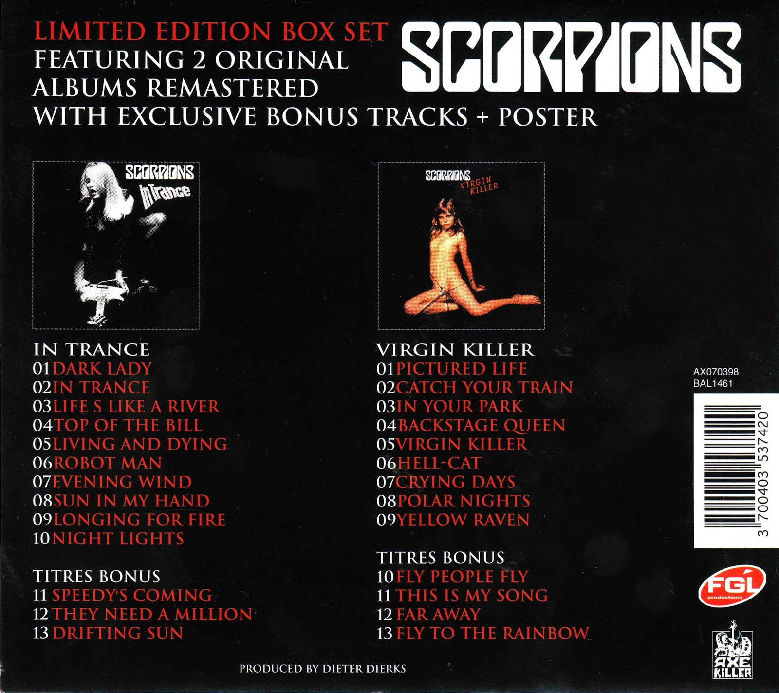 SCORPIONS VIRGIN KILLER ORIGINAL COVER JAPANESE VERSION