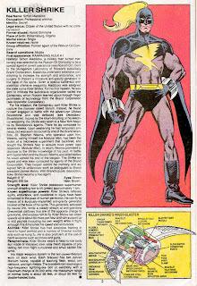 Urraca Asesina (ficha marvel comics)