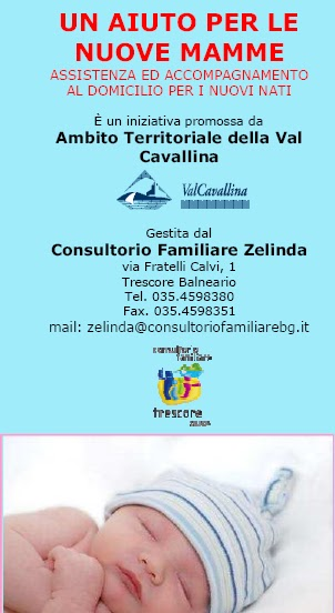 Ambito Val Cavallina: Un aiuto per le nuove mamme