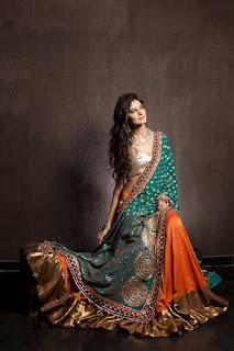 Designer Sari For Bridal
