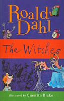 Cover of The Witches by Roald Dahl