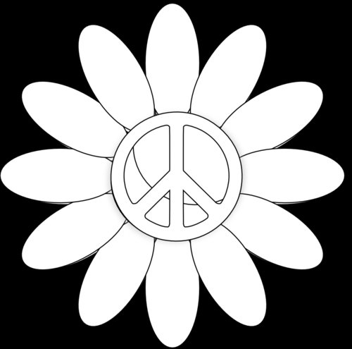 World peace coloring pages 14 image for Peace sign coloring pages to print