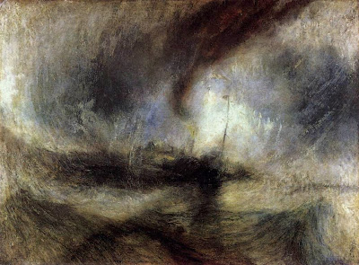Tempête de neige de William Turner, 1842