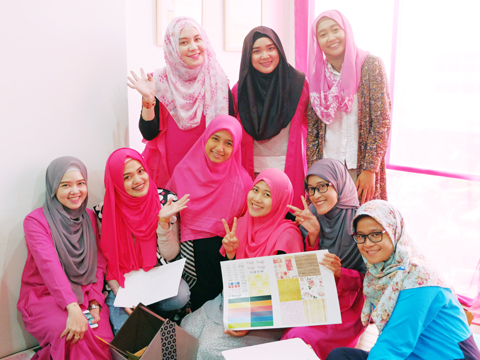 IHB Blogging workshop, hijab bloggers