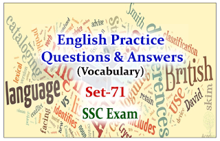Practice English Questions (Vocabulary)