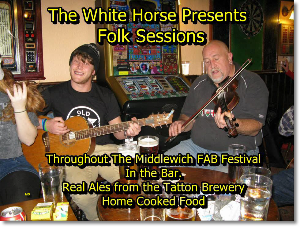 17th,18th,19th JUNE FAB SESSIONS AT THE WHITE HORSE