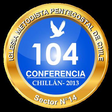 Logo Oficial 104 Conferencia Nacional  e Internacional de la IMPCH entidad Publica