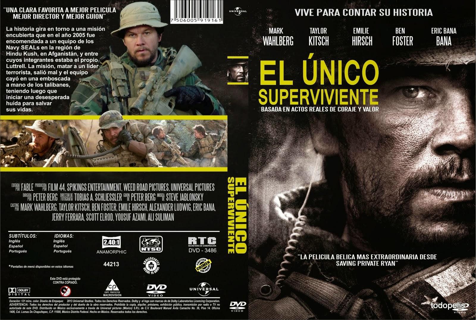 Caratula DVD El único superviviente