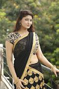 Sagarika glamorous photos in saree-thumbnail-1