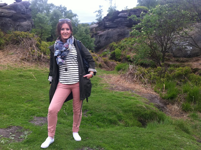 Brimham Rocks Yorkshire, Fashion Travel Blogger