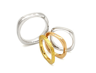 世界にひとつだけのデザインでマリッジリング(結婚指輪)ができました。
