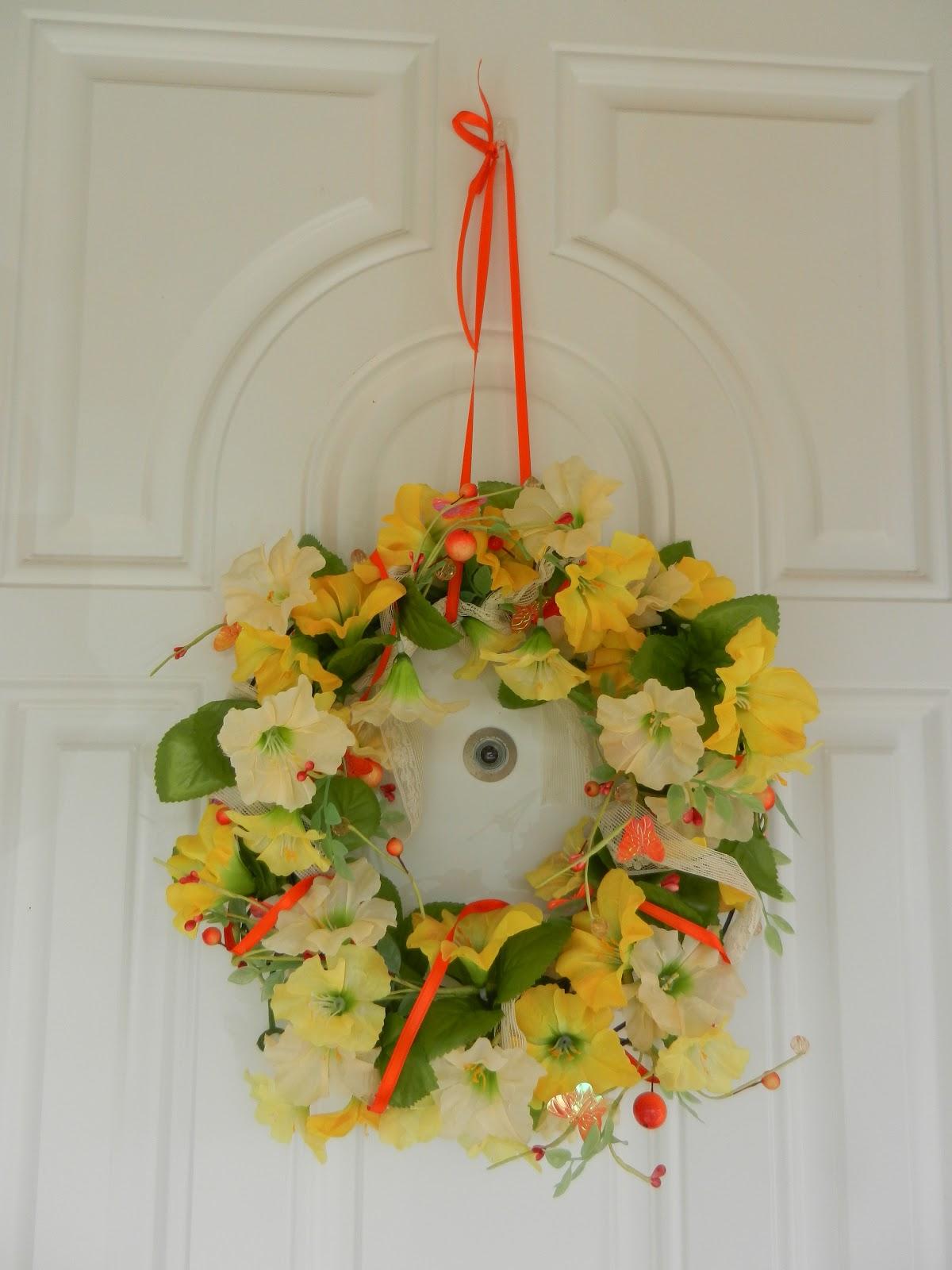 Gleeza Diy Spring Floral Wreath