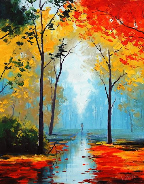 Australian impressionist landscape painter graham gercken for Australian mural artists