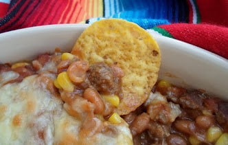 ranchero dip for corn chips -cinco de mayo