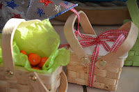 Beau-coup mini woven picnic baskets 3