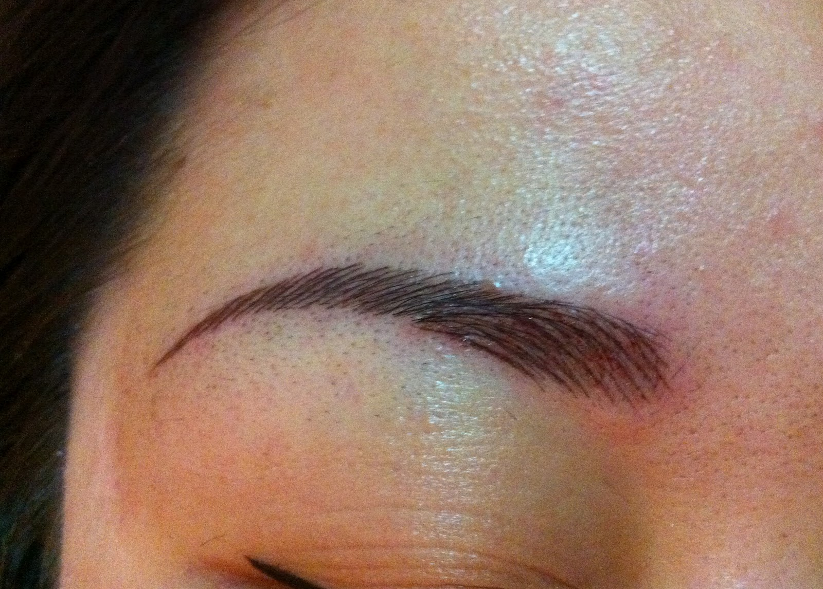 Original eyebrow embroidery photos makaroka