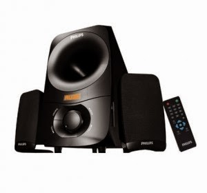 Snapdeal: Buy Philips Thunder IN-MMS6000F Laptop Speaker(2.1 Channel) at Rs.2433