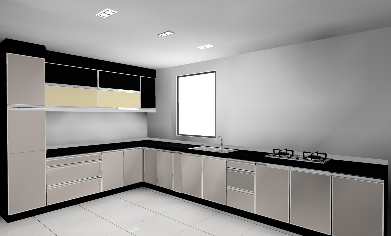 Wet Kitchen Design
