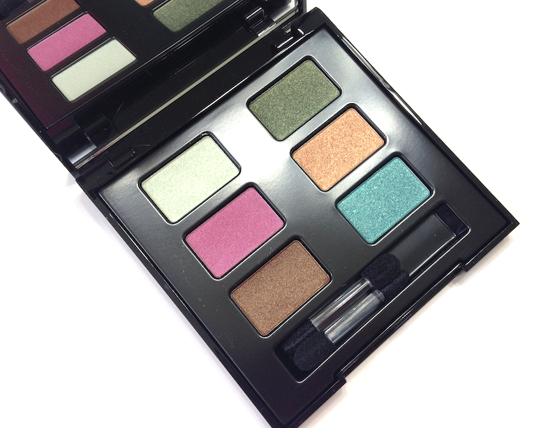 Lise Watier Eden Tropical Collection - Summer 2014 palette eyeshadow