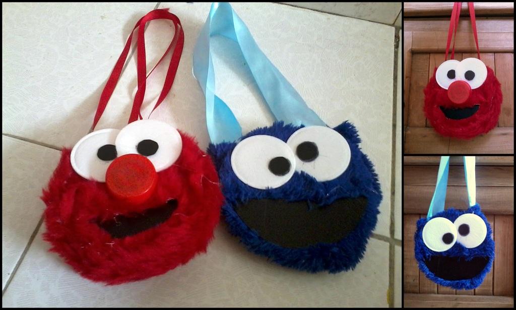 Elmo Y Lucas Come Galletas Dulceros El