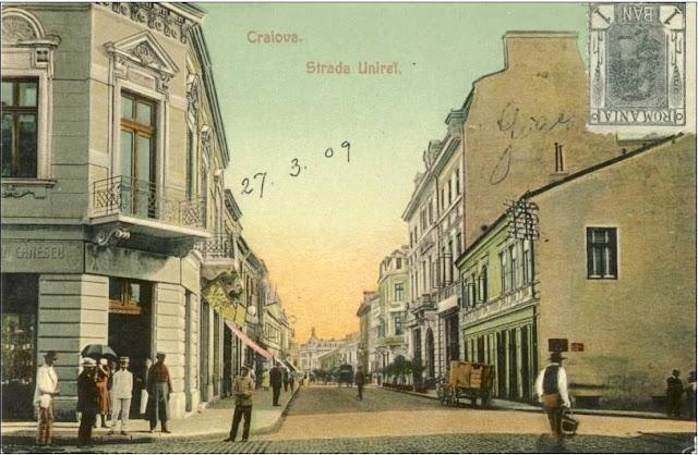 Strada Unirii din Craiova de altadata