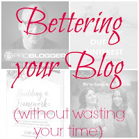 Better your blog without wasting your time: A list of great blogging resources.