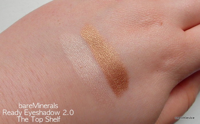 One Little Vice Beauty Blog: Eyeshadow Duo for Brown/Green eyes