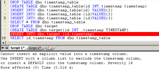 Sybase iq binary data type