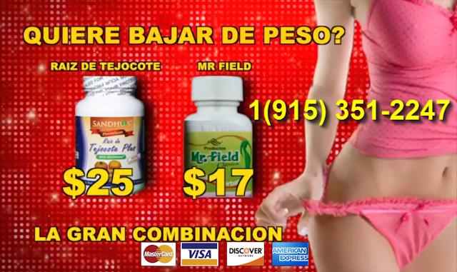 Nombres de pastillas para bajar de peso en una semana