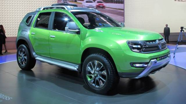 car in Novo Renault Duster 2014