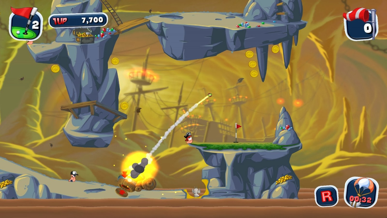 Worms Crazy Golf pc download