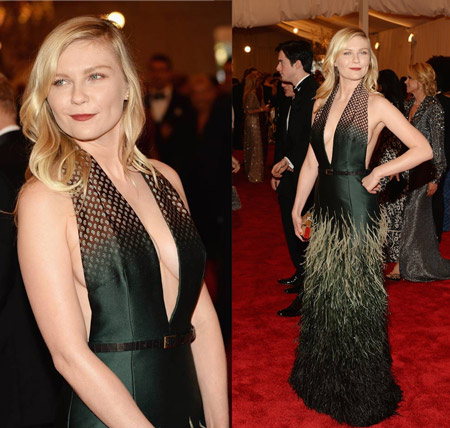 Kirsten Dunst in Louis Vuitton