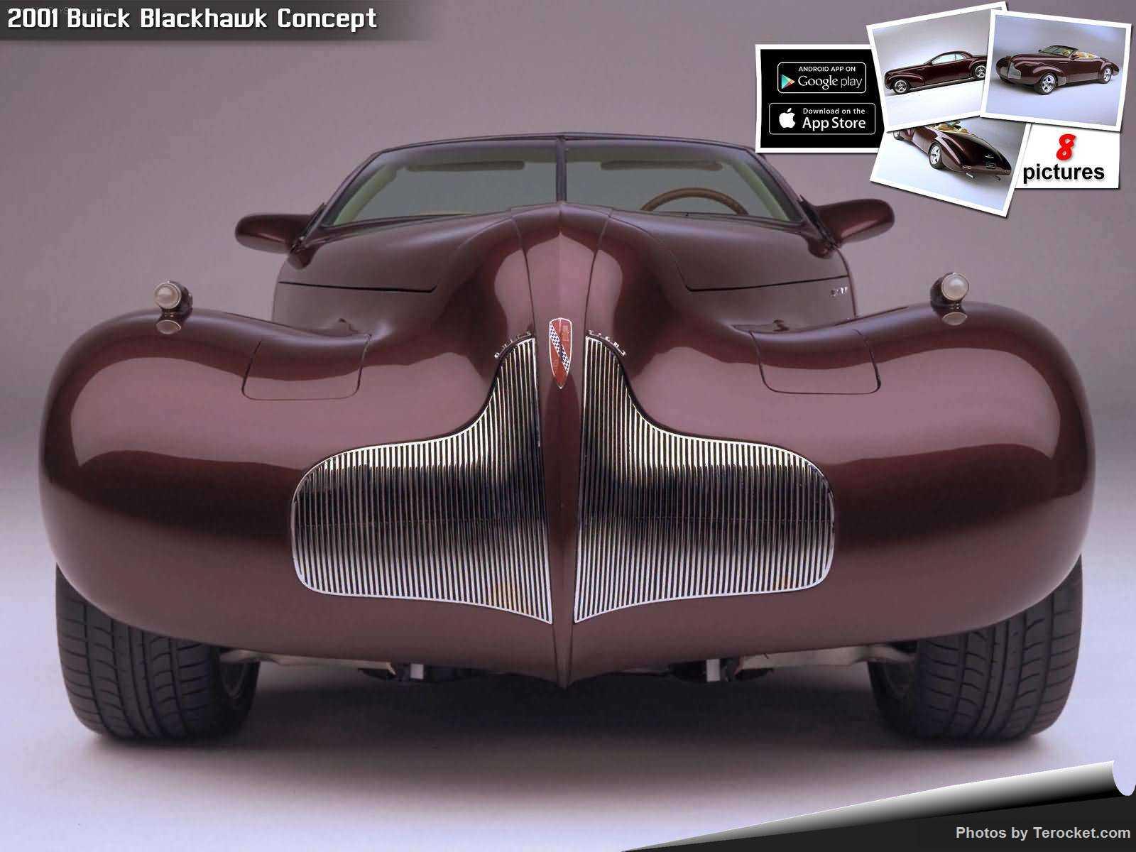 Hình ảnh xe ô tô Buick Blackhawk Concept 2001 & nội ngoại thất