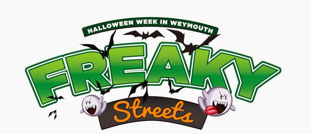 Freaky Streets Halloween Fun Weymouth Town Centre 25th - 31st Oct 2014