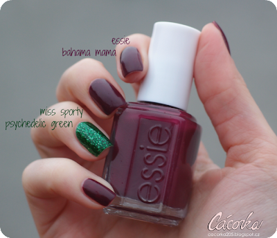 Essie - Bahama Mama + Miss Sporty - Oh My Gem
