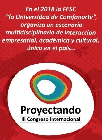 """Proyectando """"III Congreso Internacional"""""""