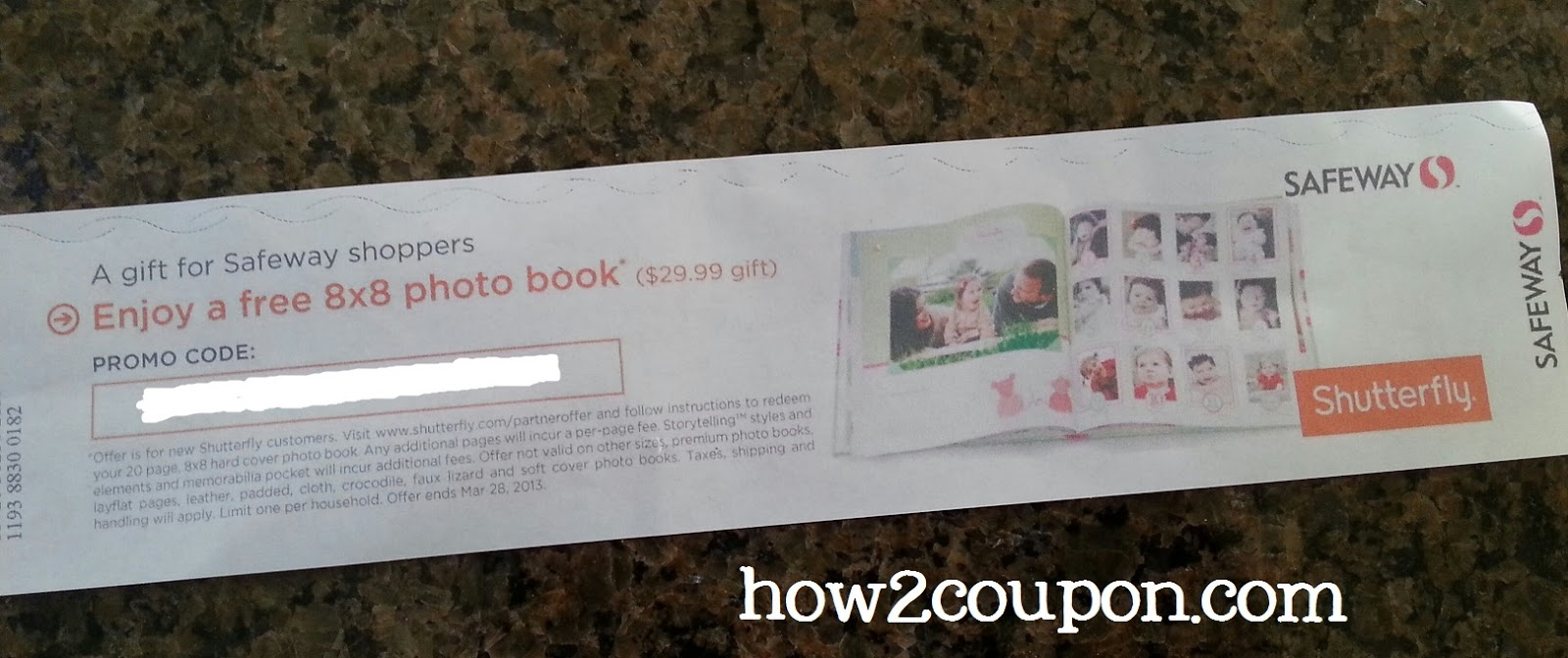 """Safeway: Coupon for a FREE 8x8"""" Shutterfly photo book?!"""