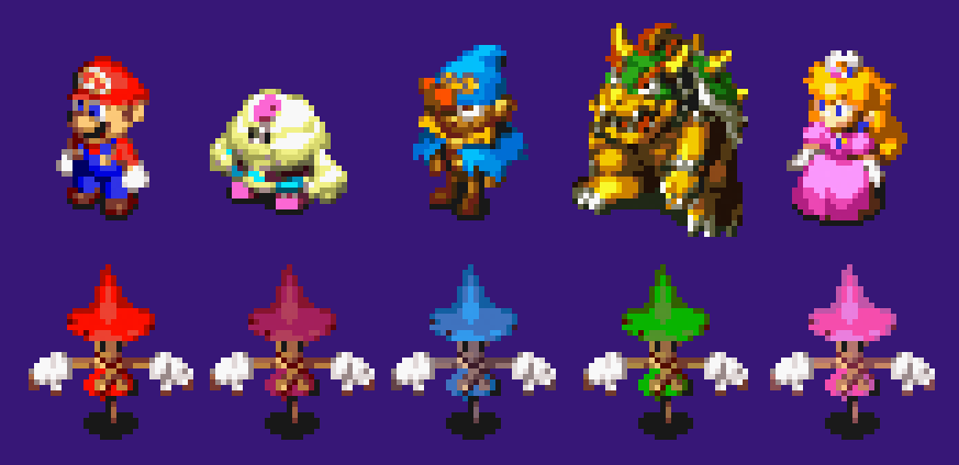 Super Mario RPG scarecrows