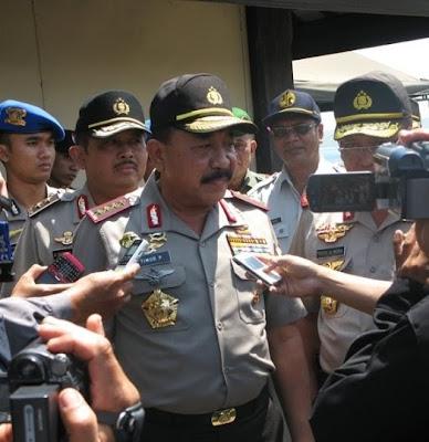 Polisi, TNI dan Brimob Gilimanuk Antasipasi FPI Masuk Bali