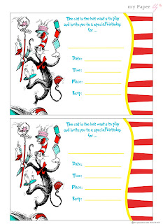 My Paper lily: {Free Printables} Dr. Seuss is the man!
