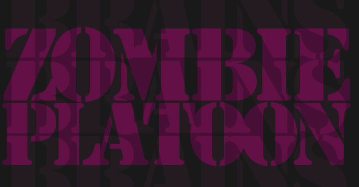 Zombie Platoon: Art, Design & Other Oddities from the Mind of Brad Hrutkay